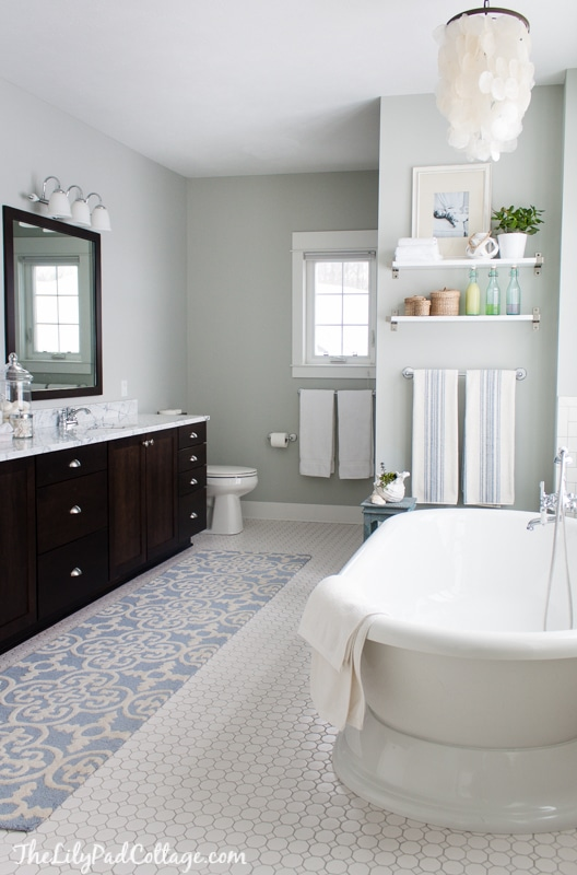 Pretty Master Bathroom Makeover