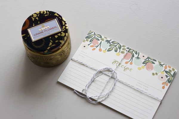 Rifle Paper Co Recipe Cards Housewarming Gift