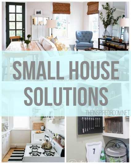 Small house solutions the inspired room - Small house organization tips ...