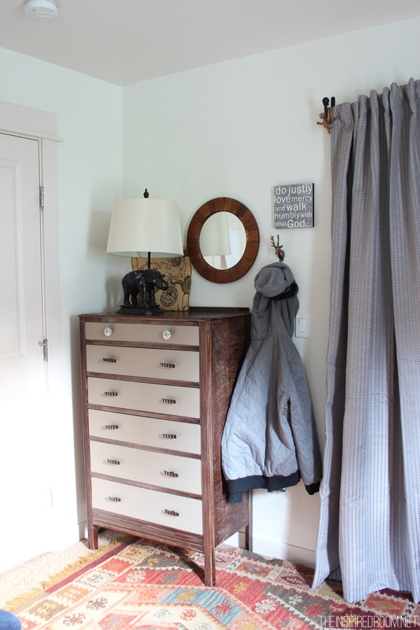 Teen Boy\'s Small Bedroom {An Update} - The Inspired Room