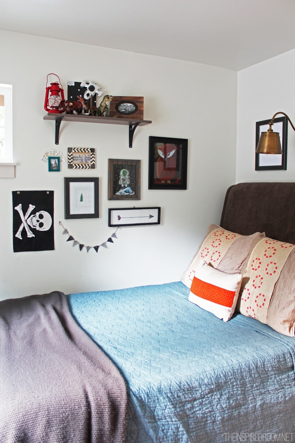 Teen boy 39 s small bedroom an update the inspired room - Teen boy bedroom ideas ...