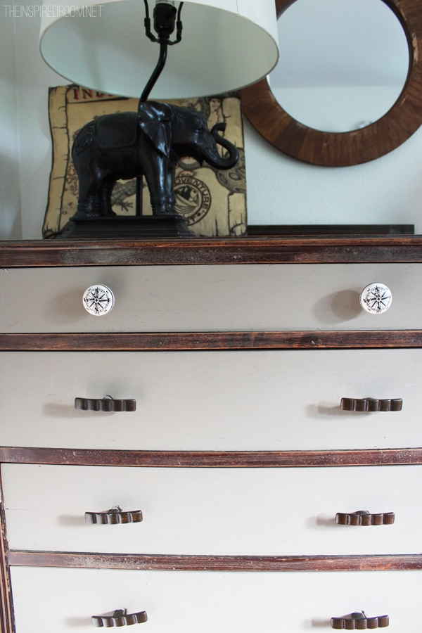 Teen Boy's Room Rustic Dresser