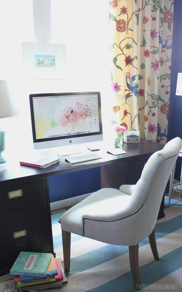Updates to My Home Office {and a New Rug!}