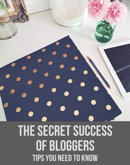 The Secret Success of Bloggers -Helpful tips on how to grow a lasting business through blogging