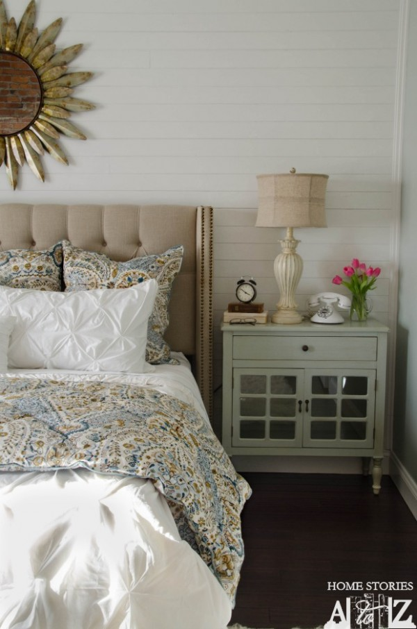 Master Bedroom Makeover {Home Stories A to Z}