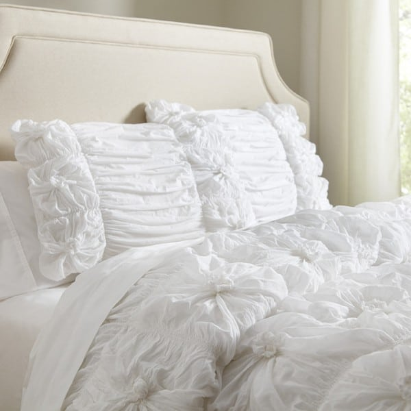 Birch-Lane-Laurel-Duvet-Set-White