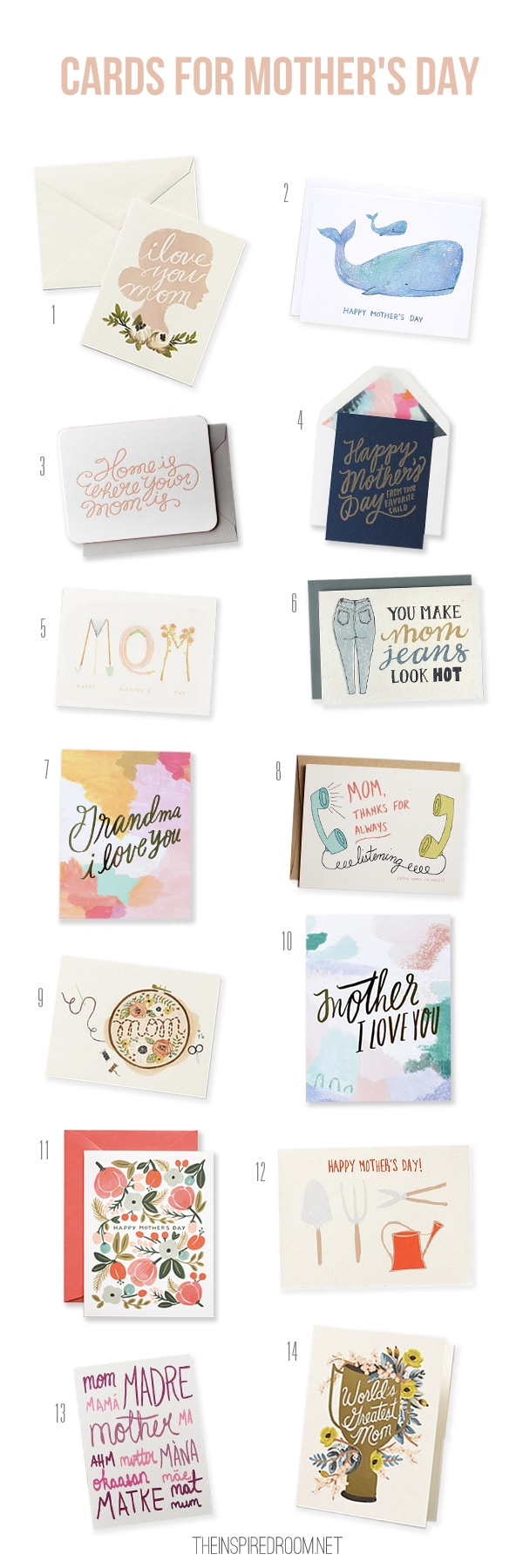 Cards for Mother's Day {Gather}