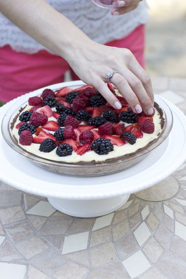 Delicious Berry Tart Recipe for The Inspired Room