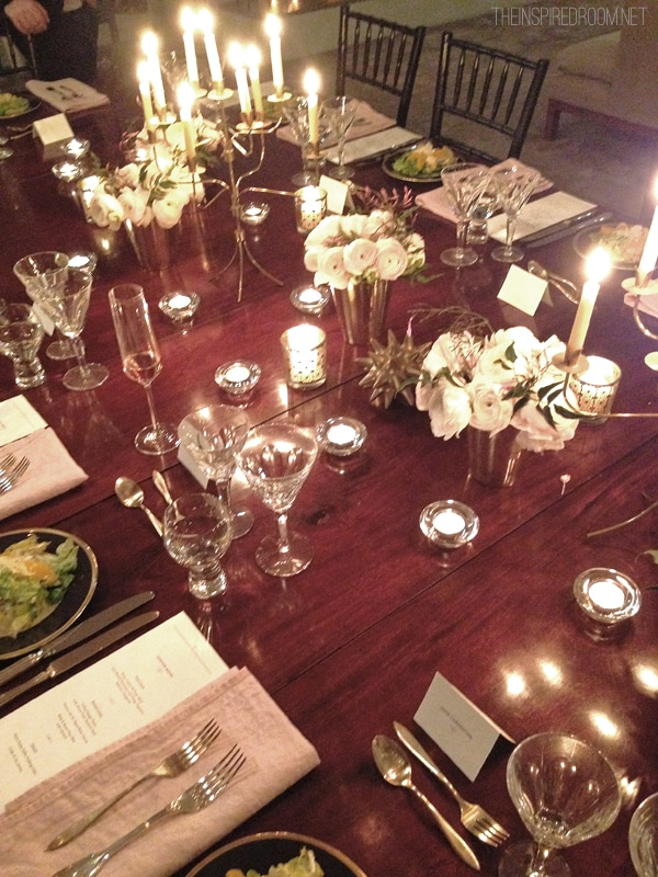 Dinner Party Wayfair Birch Lane Event Christiane Lemieux NYC loft