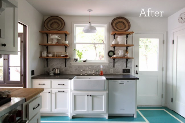 Eclectic Farmhouse Kitchen {My Life Eclectic}
