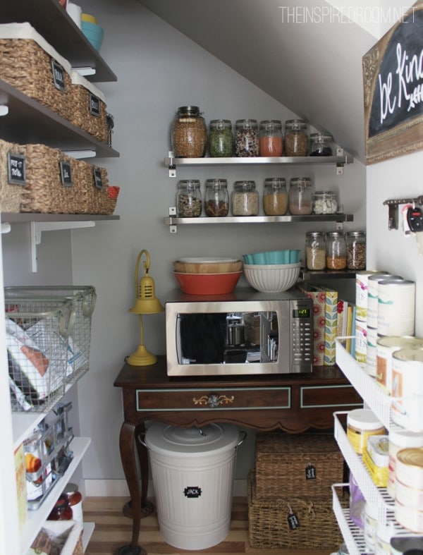 The Two Secrets To Keeping My Pantry Organized The