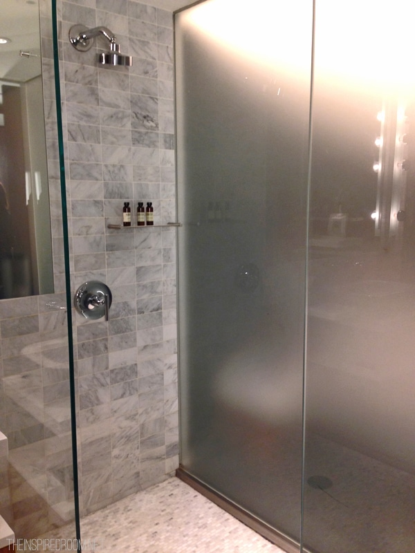 Smyth Tribeca Hotel Shower