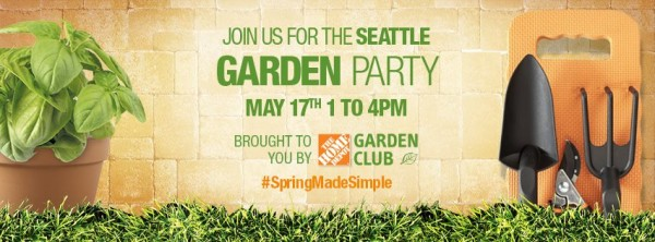 Spring Garden Party @ the Home Depot