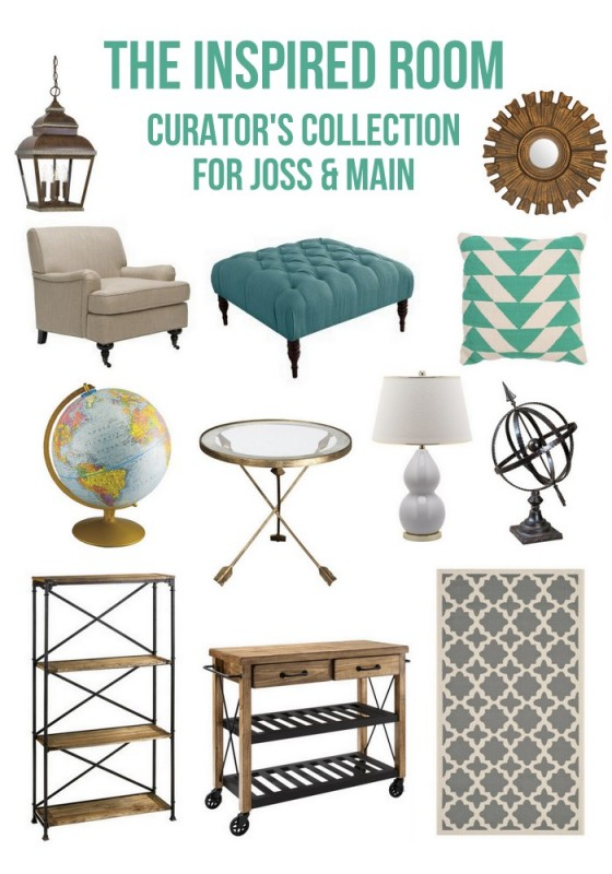 Decorating inspiration 2 218 the inspired room Home decor joss and main