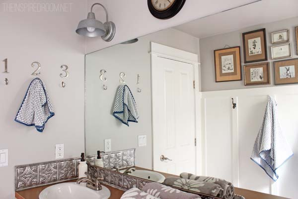 Bathroom Makeover {DIY Weekend Refresh}