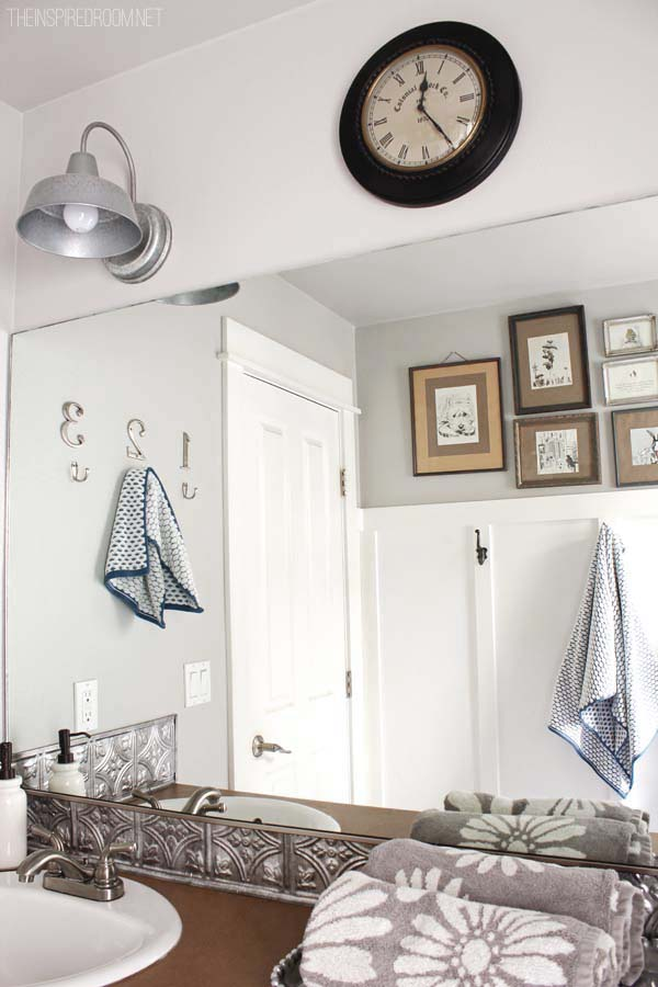 Easy Affordable Bathroom Makeover