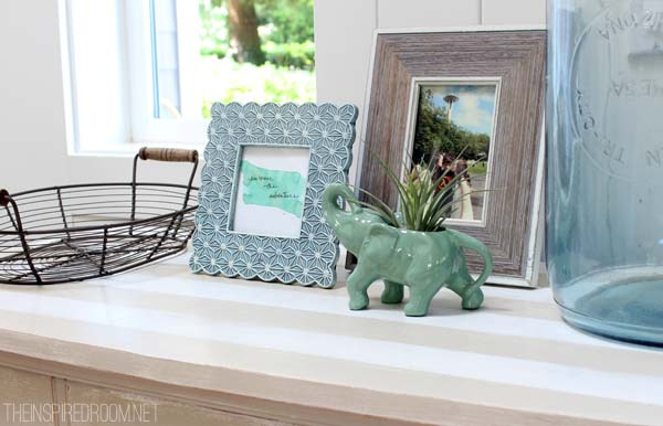 Entry Table Summer Decor