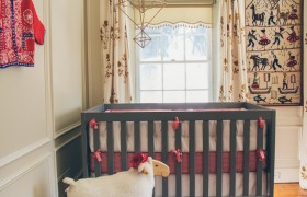 Global Inspired Eclectic Nursery by Fieldstone Hill Designs