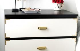 IKEA Hack Malm Dresser Makeover Campaign Style