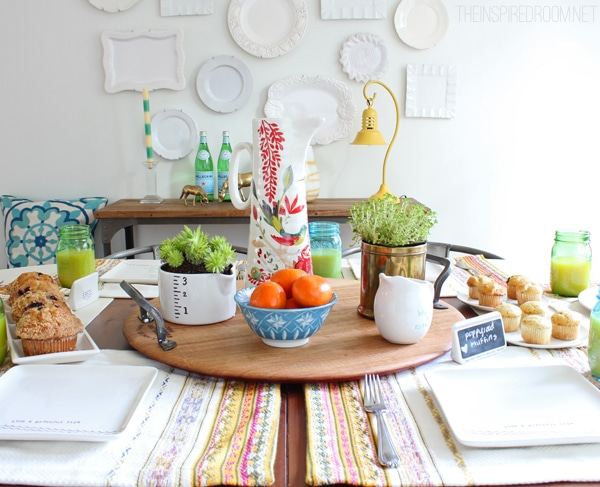 Mix and Match Spring Table