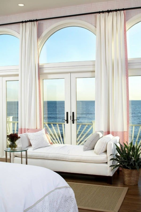 Pretty Arched Windows - House Tour - Terrat Elms - Marblehead Residence