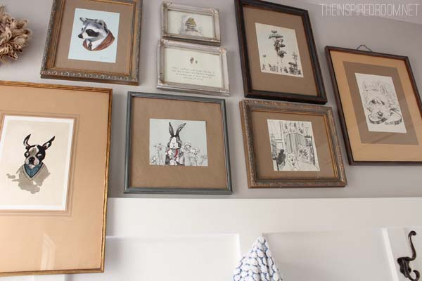 Quirky Gallery Wall