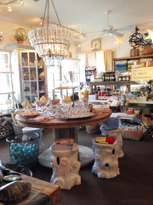 Sesame and Lilies Home Store in Cannon Beach Oregon