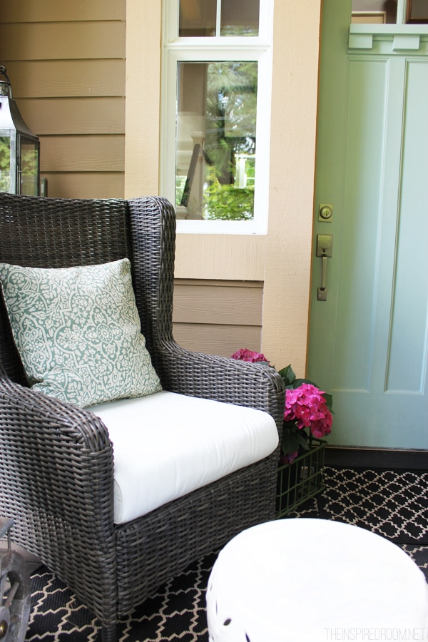 Spring Front Porch Decorating