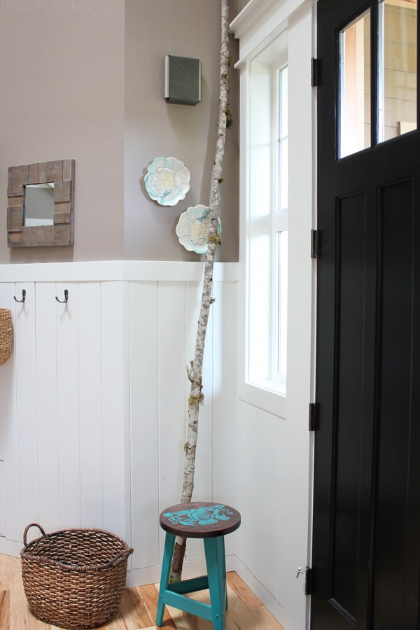 Birch Branch as Decor - Decorating with Texture