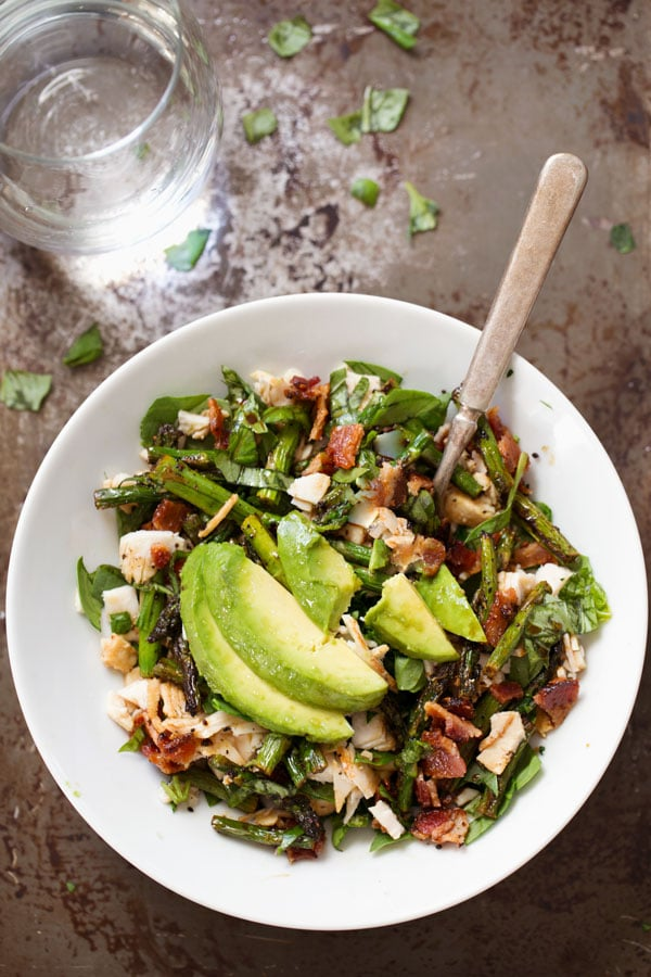 Chicken Bacon Avocado Salad Recipe