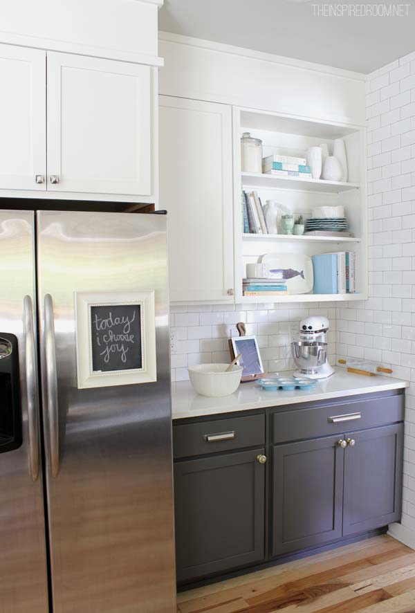 Shades Of Neutral Gray White Kitchens Choosing Cabinet Colors - Grey and white kitchen cupboards
