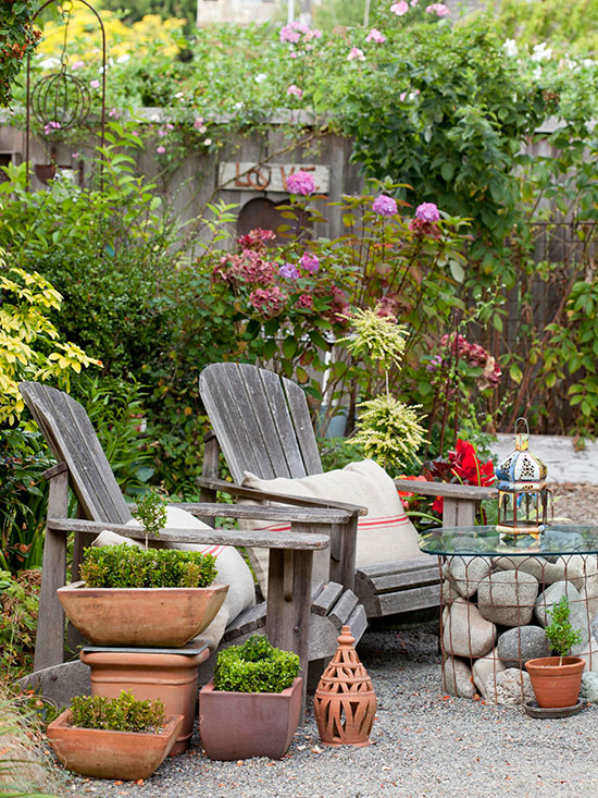 {Inspired By} Adirondack Chairs