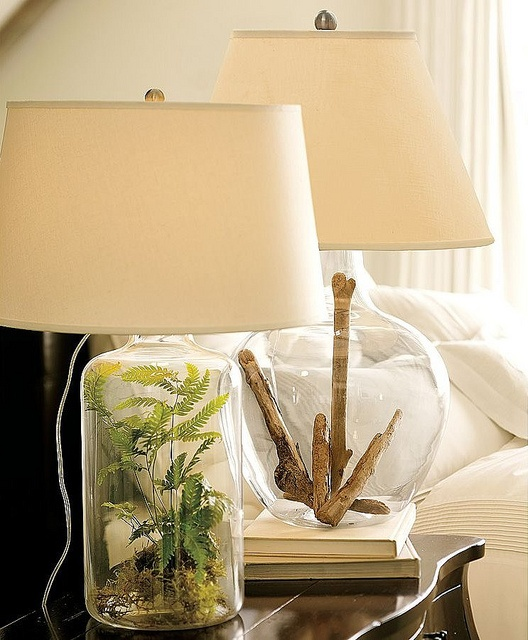 Glass Lamp Filler Ideas
