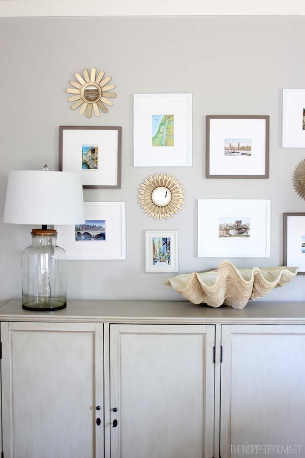 Vacation Art Gallery for a Meaningful Home The Inspired Room