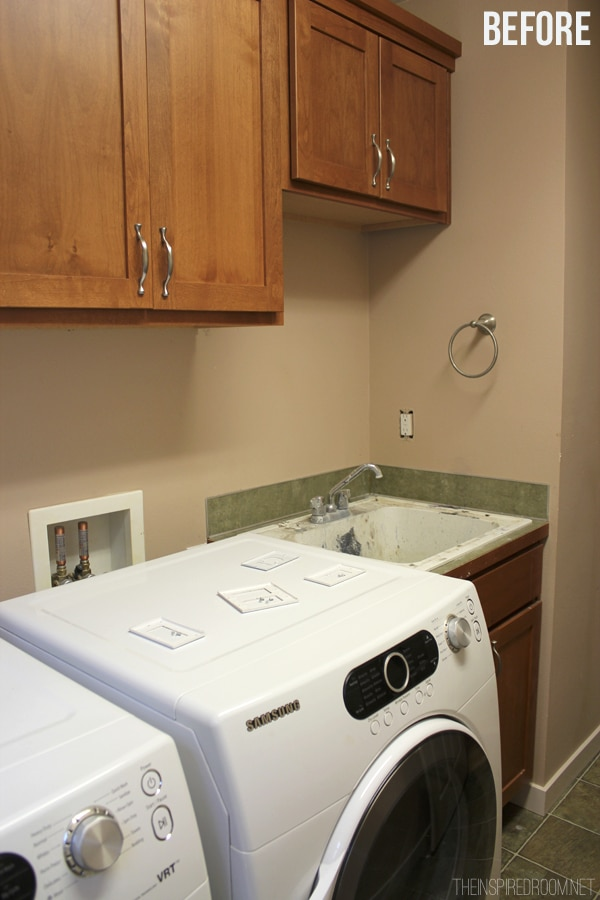 Laundry Room Before Photo