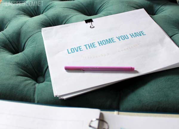 Love the Home You Have - The Inspired Room Book