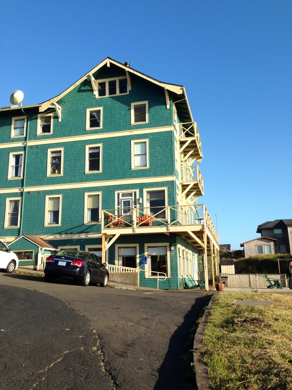 Sylvia Beach Hotel Newport Oregon