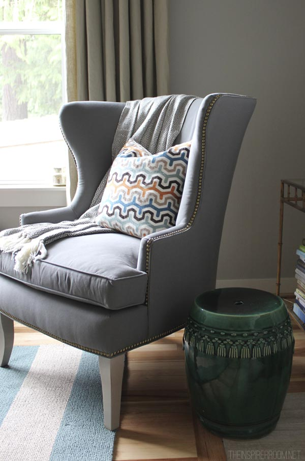 Thurston Wing Back Chair Ballard Designs