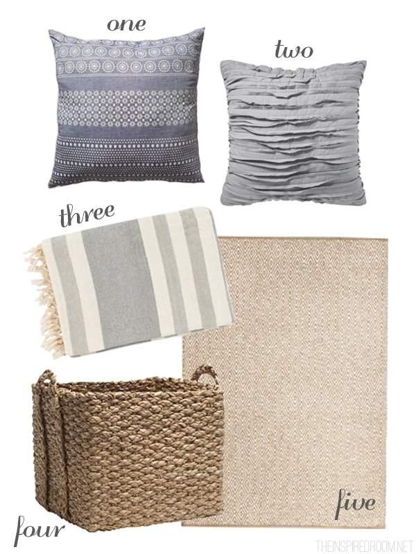 Bedroom Layers and Texture - The Inspired Room