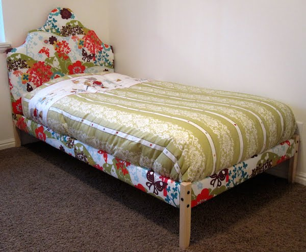 diy upholstered fjellse ikea bed ikea hack the