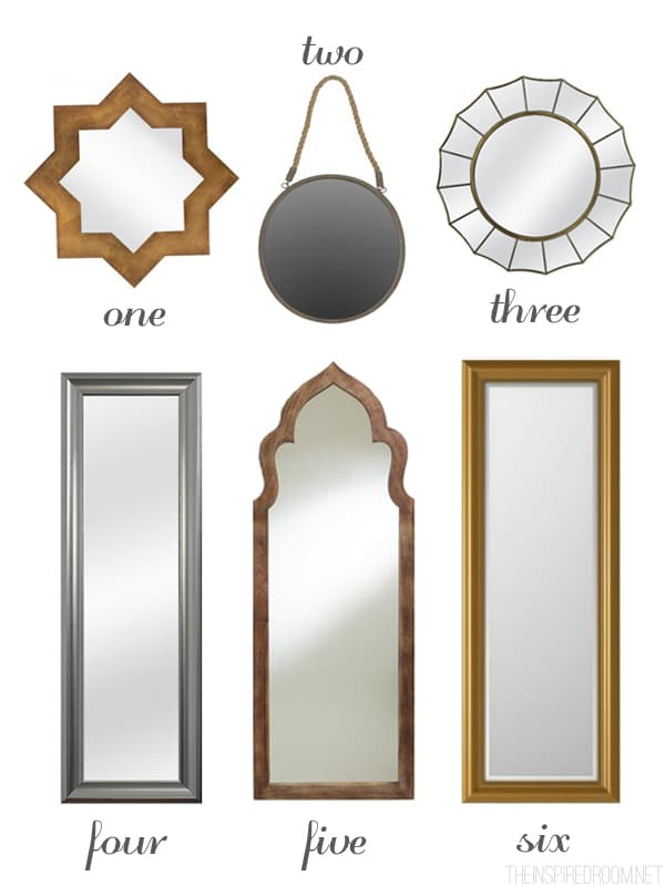 Mirrors - Ideas for Decorating a Small Bedroom