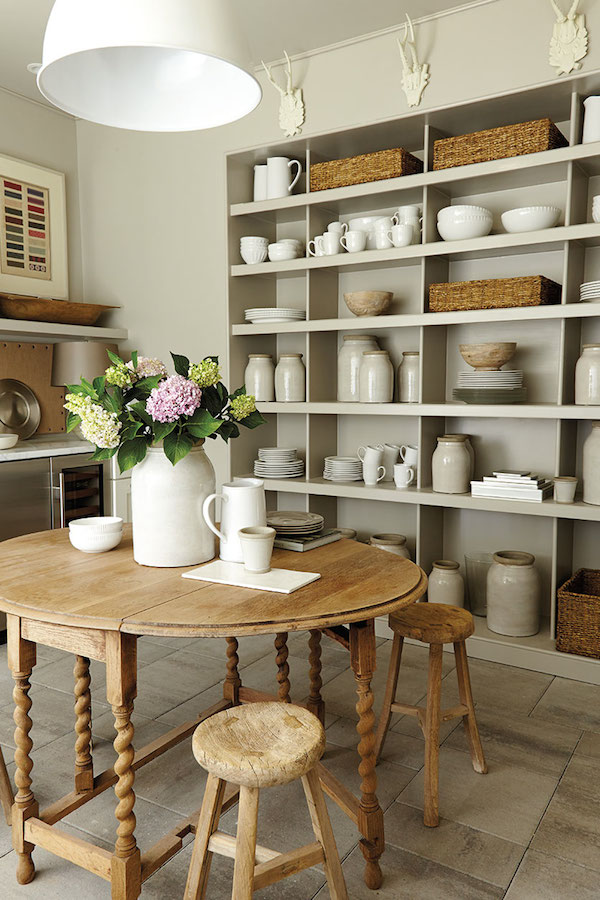 5 take away tips southern living idea house 2014 the - Open shelving living room ...