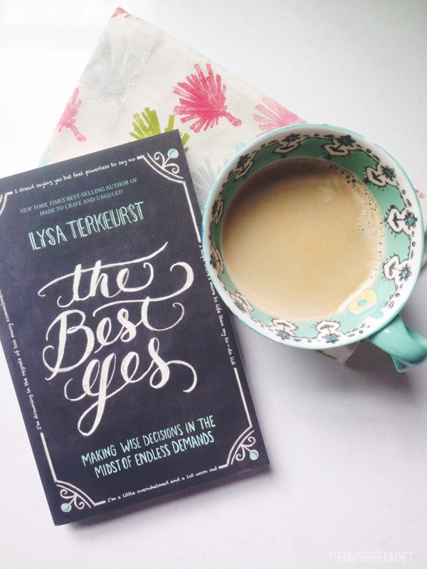 The Best Yes {and a book update!}