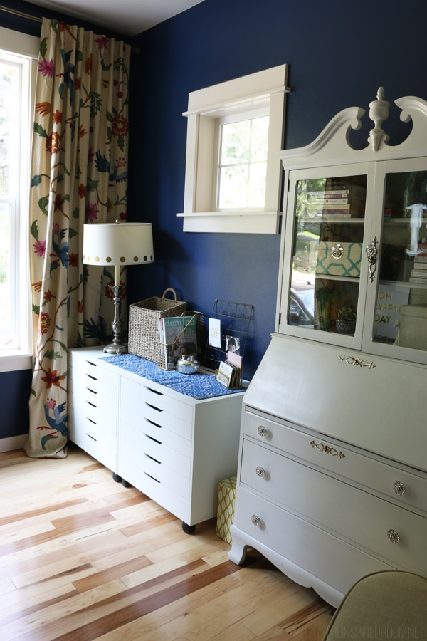 The Inspired Room Navy Blue Office