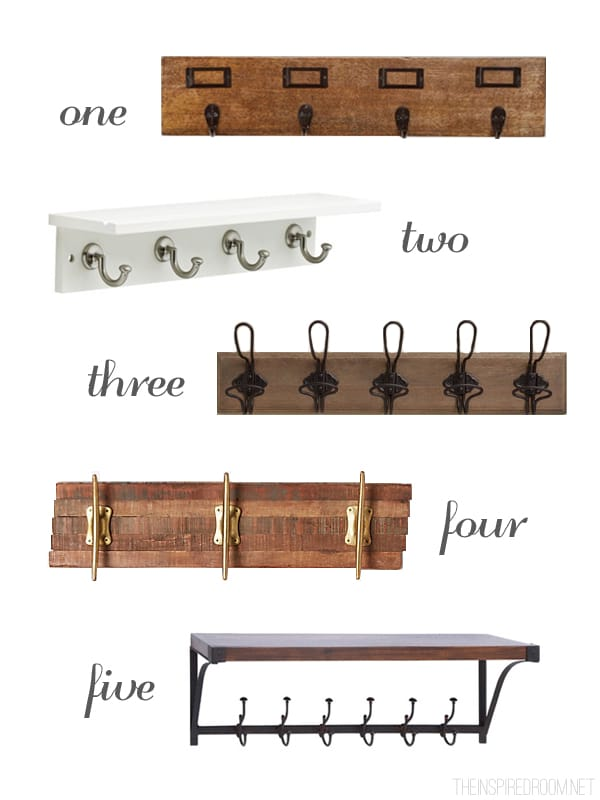 Wall Hooks and Shelves - Ideas for Decorating and Organizing a Small Bedroom