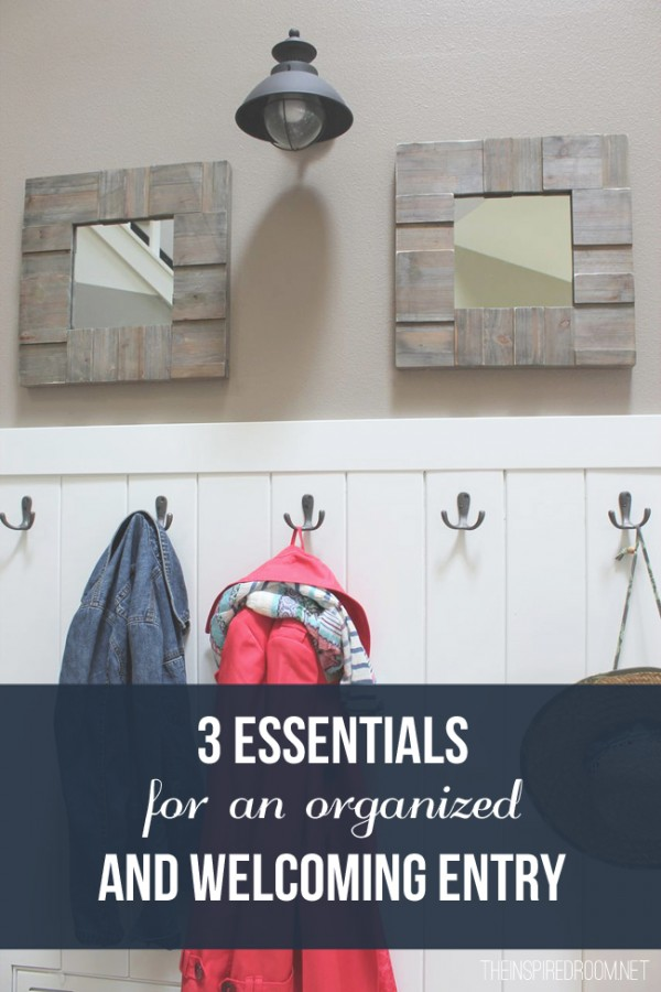 3 Essentials for an Organized and Welcoming Entry