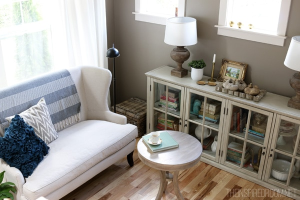 Making Myself at Home {& The New Reading Corner!}