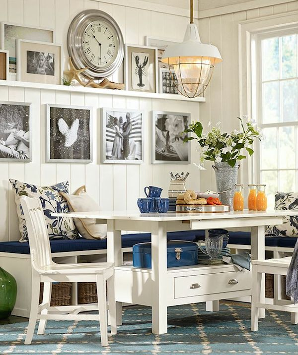 7 lovely dining rooms the inspired room for Wall decor ideas for dining area