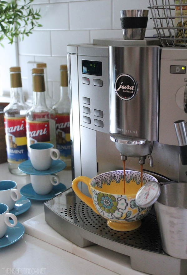 21 Days Loving Fall - Coffee Station The Inspired Room