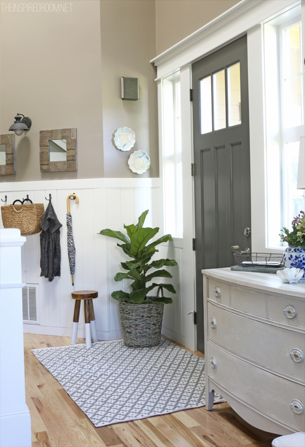 Front Door Refresh - The Inspired Room